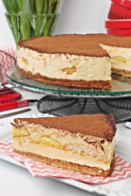 Cake Caprice: Gotowany sernik kajmakowy