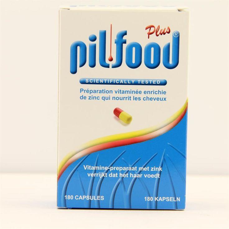 Imgroma Pilfood Plus Capsules Haaruitval 180Caps  Pil-Food Plus Vitamine-preparaat met zink verrijkt dat het haar voedt. Dankzij de gecombineerde doeltreffendheid van haar bestanddelen bevordert Pil-Food Plus de groei van het haar en verbetert ze het bevoorraden van de haarwortels met de nodige grondstoffen. Ze bezorgt het organisme zwavelhoudende aminozuren onmisbare vitaminen voor de groei van het haar en de nagels en giersextract reeds lang bekend als bevorderende factor voor de groei van…