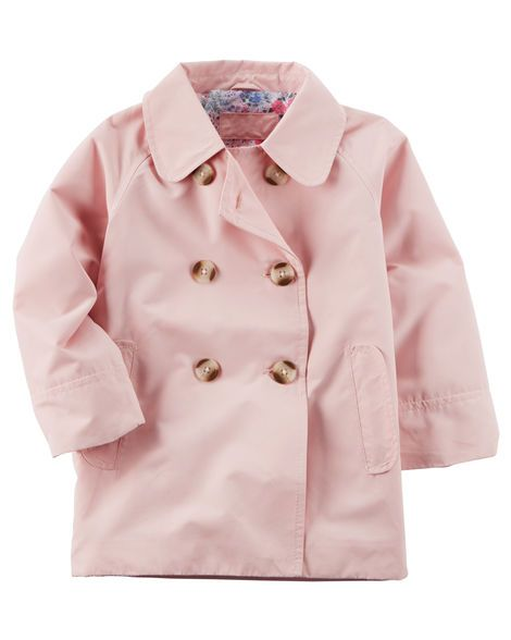 Baby Girl Trench Coat from Carters.com. Shop clothing & accessories from a trusted name in kids, toddlers, and baby clothes.