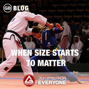 When Size Starts to Matter | Gracie Barra - Brazilian Jiu-Jitsu - Martial Arts - Jiu-Jitsu for everyone - Master Carlos Gracie Jr.
