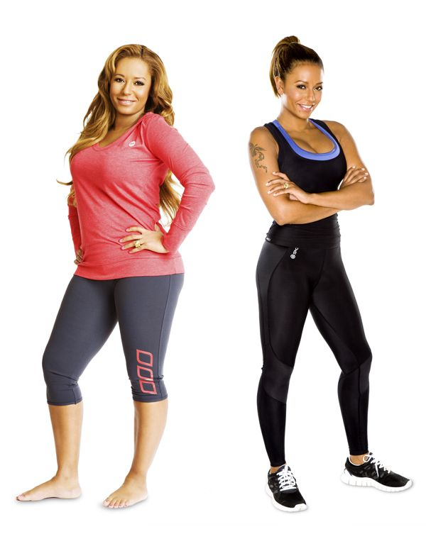 Mel B Workout Routine and Diet Plan