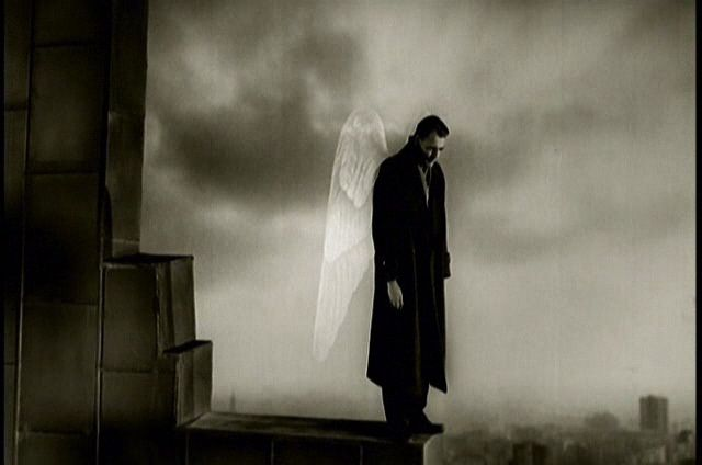 City of Angels (on WINGS OF DESIRE) | Jonathan Rosenbaum  I kind of picture you this way now..