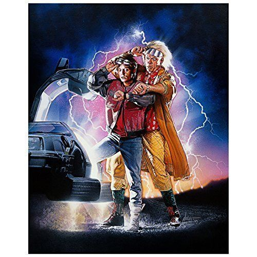 Michael J. Fox and Christopher Lloyd Autographed 16x20 Back to the Future Part II Photo - Pre-Order  @ niftywarehouse.com #NiftyWarehouse #BackToTheFuture #Movie #Film #Movies #Gifts