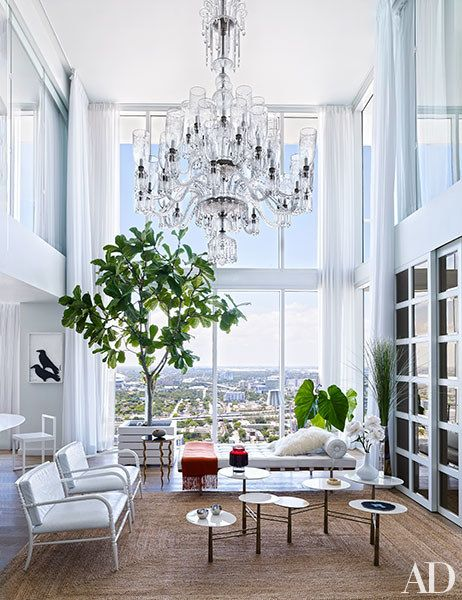 Ranjana and Naeem Khan's Miami Penthouse Is the Height of Style Photos   Architectural Digest