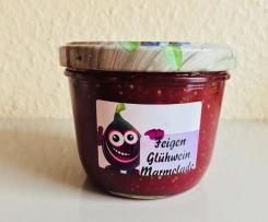 Feigen Marmelade mit Glühwein