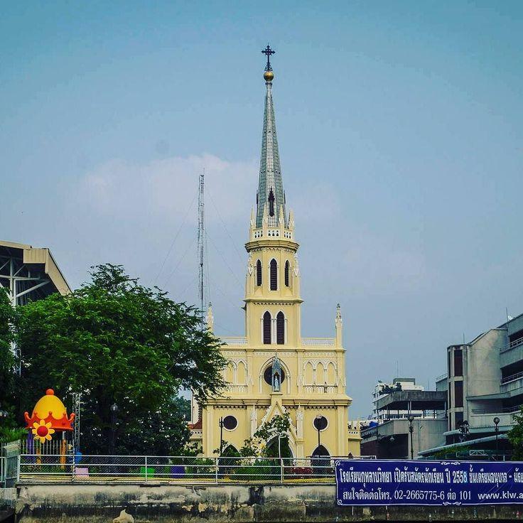 Holy Rosary Church Bangkok #instathai #bangkok #insta_thai #krungthep #church #holyrosarychurch #chaophraya