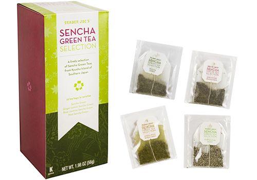 Trader Joe's Sencha Green Tea Selection