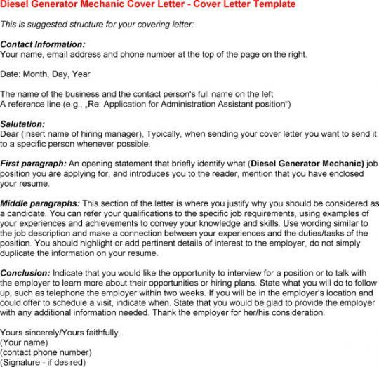 cover letter generators - When To Send A Cover Letter