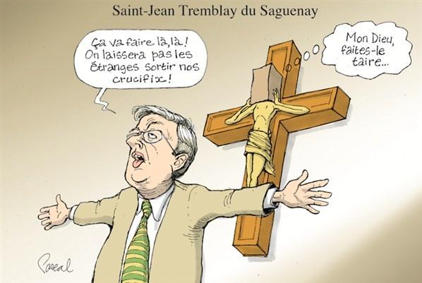 Caricature du jeudi 16 août (© Pascal Elie)