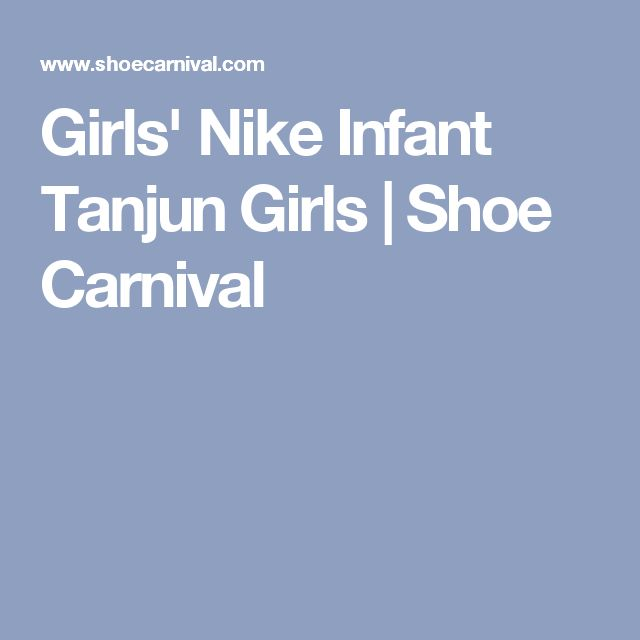 Girls' Nike Infant Tanjun Girls | Shoe Carnival