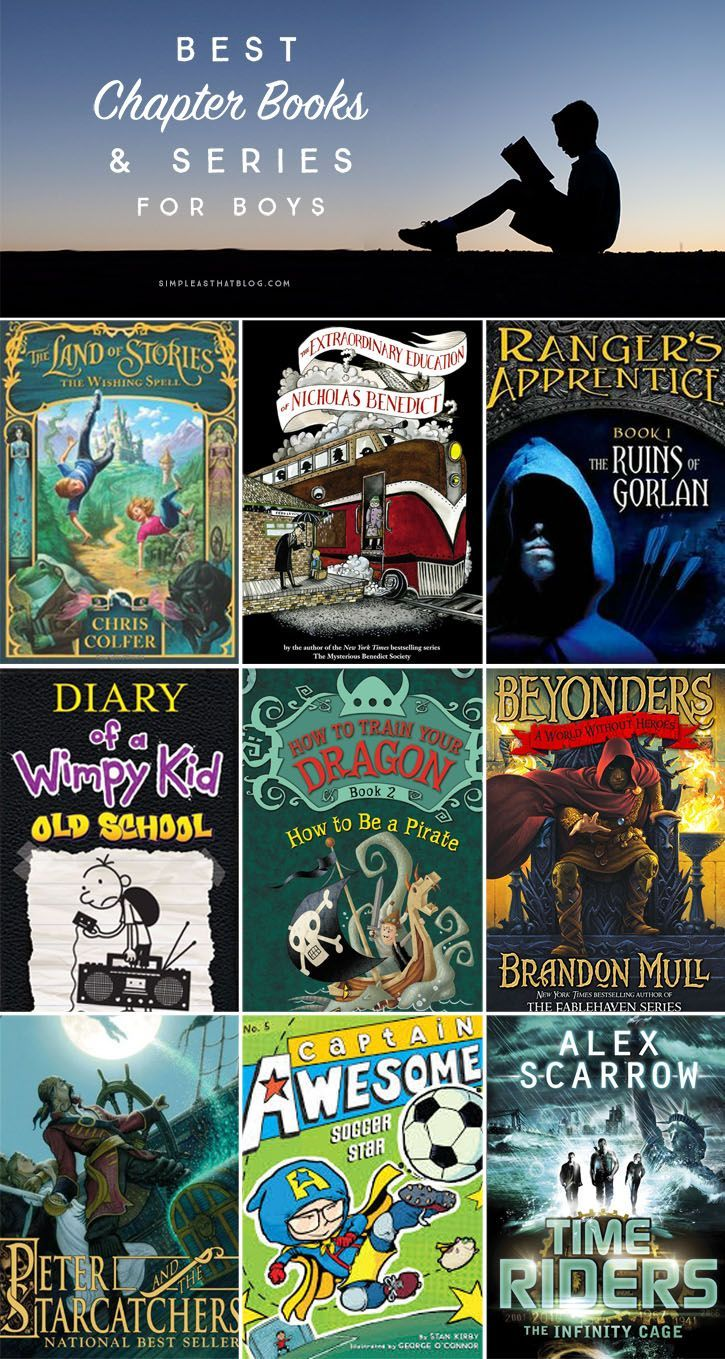 Best Chapter Books And Series For Boys, Ages 712