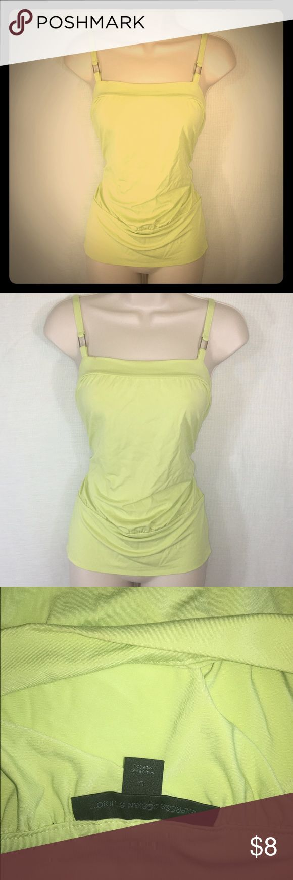 Limited Lime Green Top-L A lime green top from The Limited that is forgiving and flattering. The billowy fit is the perfect way to add movement to an outfit and the unique color adds fun to either a casual or formal outfit! The Limited Tops Blouses