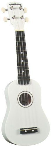 Diamond Head DU-102 Ukulele, White - http://www.rekomande.com/diamond-head-du-102-ukulele-white/