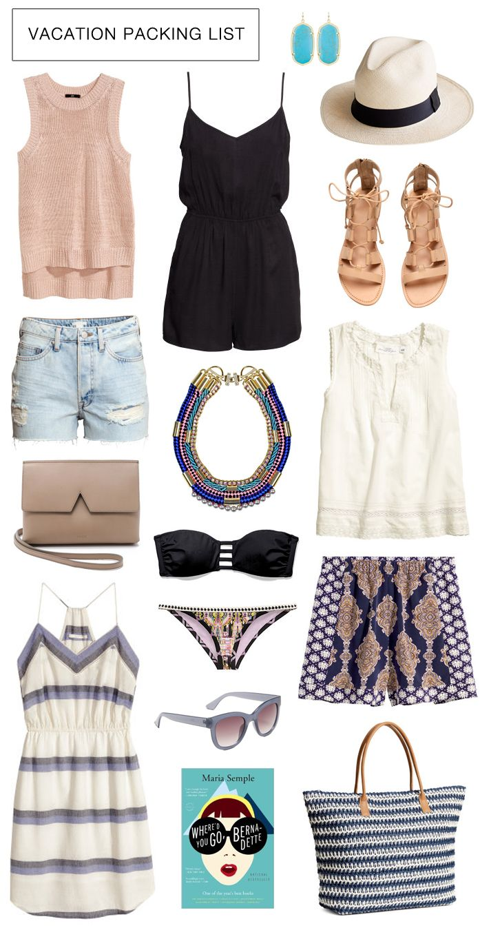 jean shorts. romper. a nice hat. love the colors and patterns here. - Best 25+ Beach Vacation Outfits Ideas On Pinterest Vacation