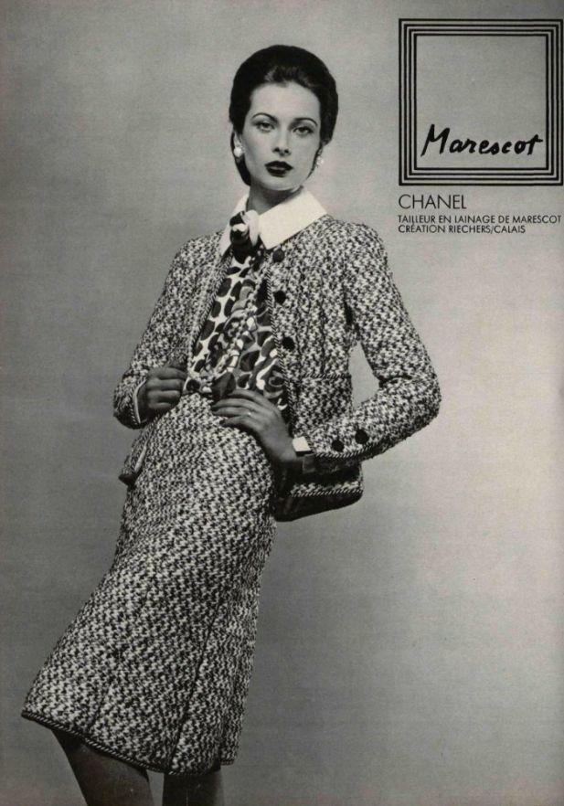 History of chanel fashion 66