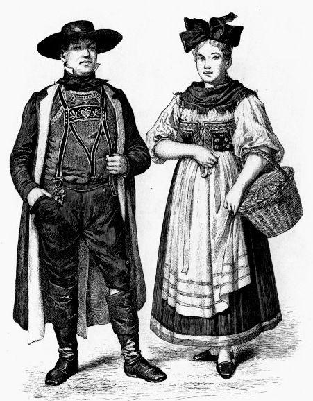 Немецкий народный костюм