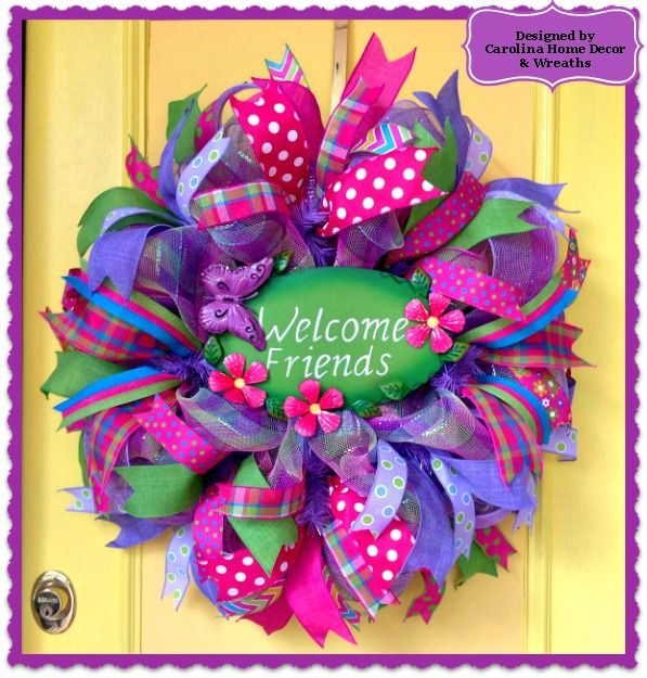 Spring/Summer Wreath #19