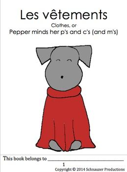 Join Pepper as she goes through up to thirty-one different clothing vocabulary words in her booklet, useful review list, PowerPoint presentation, flashcards, Pepper's Suitcase game, Pepper dress-up coloring sheet and coloring posters.  The range of items in this product are most suitable for Pre-K to Grade 7 (ages 3 to 12).