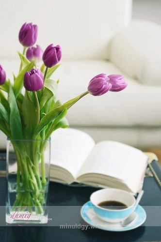 @ home  Tagged:  , tulips , vase , apartment , Italy , Milan , interior , sofa , book , relax , tea , tea cup , furniture , interior design , city , ci ..