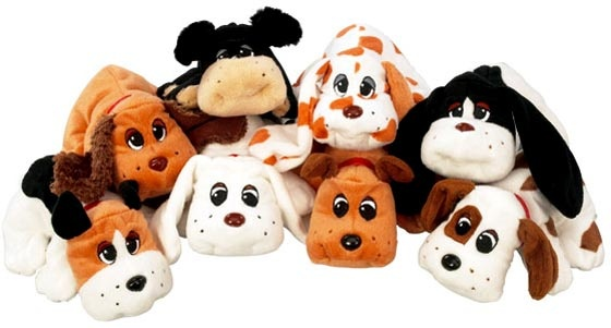 Pound Puppies... I had the cats, horses and puppies!