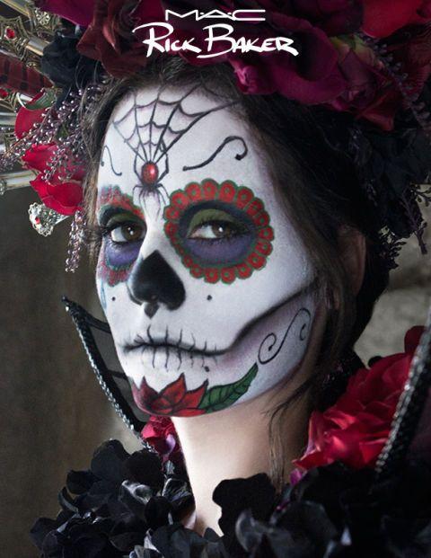 Halloween 2013: copia il trucco da teschio messicano grazie al make-up tutorial ideato da Rick Baker per MAC -cosmopolitan.it