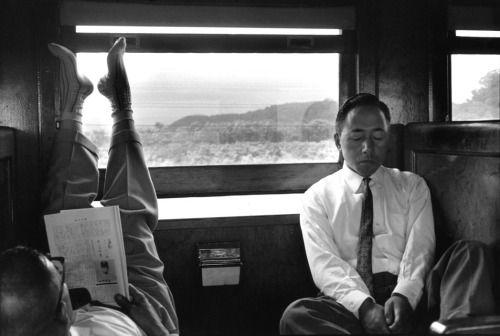 Henri Cartier-Bresson :: Hokkaido, Near Noboribetsu, Japan, 1965