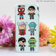 498SD Para Heróis Da Marvel Rígido Limpar Transparente Capa para iPhone 4 4S 5 5S SE 5c 6 6 s Plus Telefone casos //Price: $US $1.79 & FREE Shipping //    #homemformiga #marvel