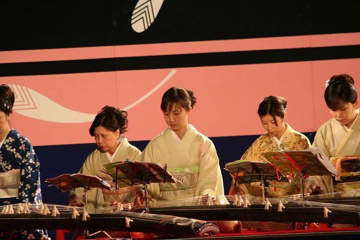 Himejijo Kangetsukai Oct09 125 - Koto (instrument) - Wikipedia