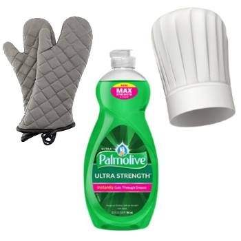 Free Palmolive Dish Soap Oven Mitt and Chef Hat - http://ift.tt/2oe9sE1