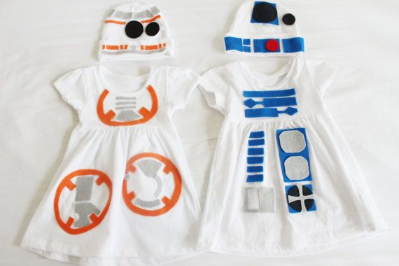 BB8 and R2D2 costume dress for by TheJonesLessTraveled on Etsy
