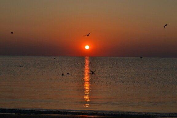 Sunrise, Mangalia, Romania