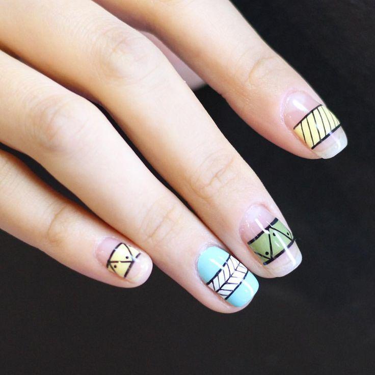 128 best Korean Nail Art images on Pinterest | Korean nails, Korean ...