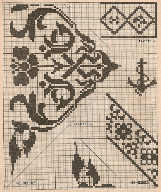 Vintage Cross Stitch Patterns - anchor