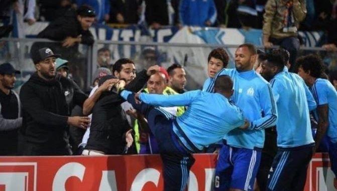 Europa League: Why Patrice Evra Kicked a Fan