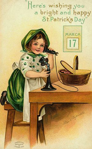 As the Clever Crow Flew: Vintage St. Patrick's Day Postcards