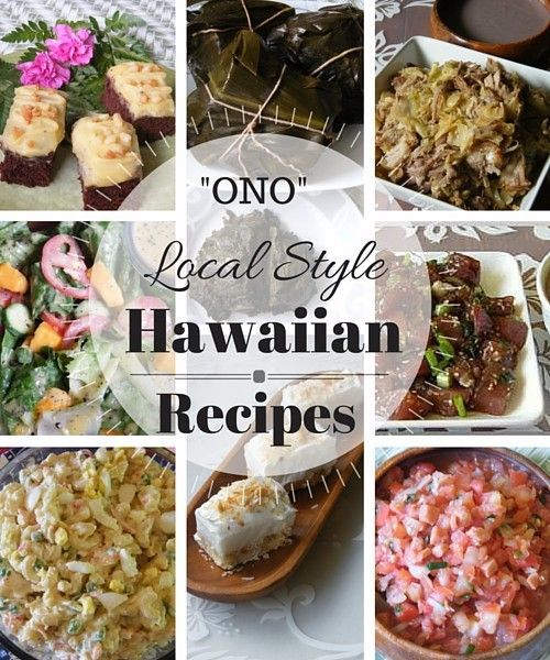 Hawaiian and Local Style Food Recipes. Check out more local style dishes here. Enjoy!