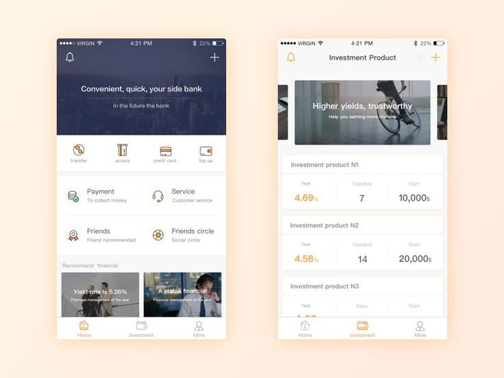 Banking/Investment Mobile App