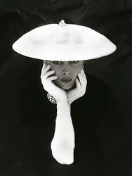 Photo, Norman Parkinson - This is an example of the vintage hats worn @ the tea at Norcliffe each year.