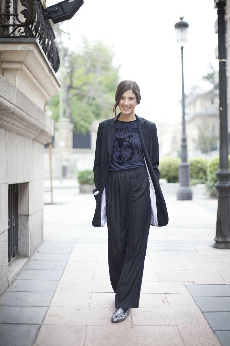 Nueva falda pantalón. Street style outfits. Looks de street style. Fashion Blogger.