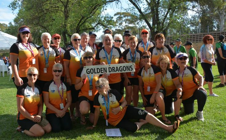 Success: Golden Dragons Ballarat is becoming a force to be reckoned with, with this year's squad (pictured) excelling at the Australian Masters Games in Adelaide.