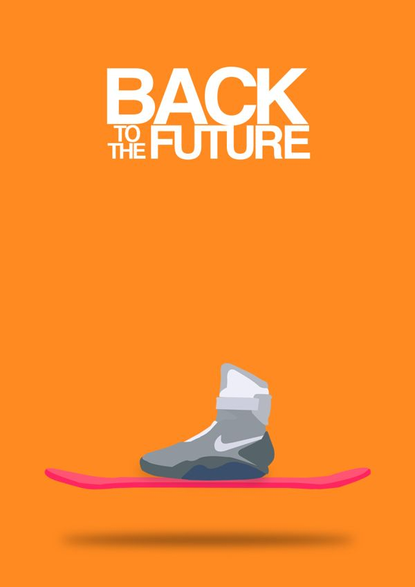 Back to the Future (1985) ~ Minimal Movie Poster by Halil Beydilli  I need an hoverboard for christmas. Thanks.