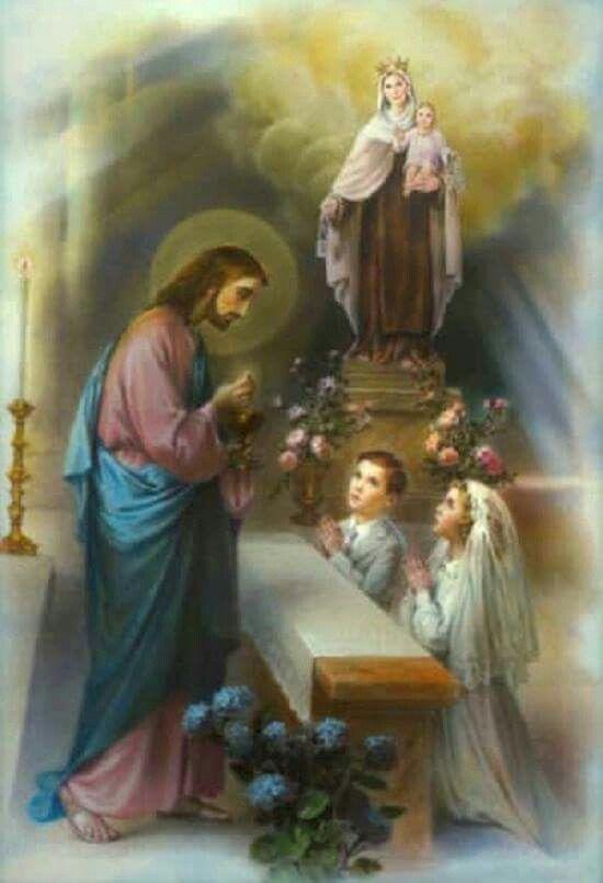 Сделать, открытки с первым причастием католика