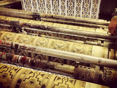 Rotary Machine Screen Printing