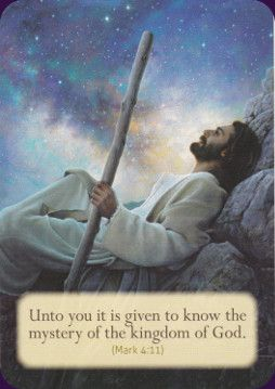 Loving Words from Jesus:divine guidance. Each card has a comforting Bible quote:Created by Doreen Virtue Oracle Deck - Lifestyles 2016