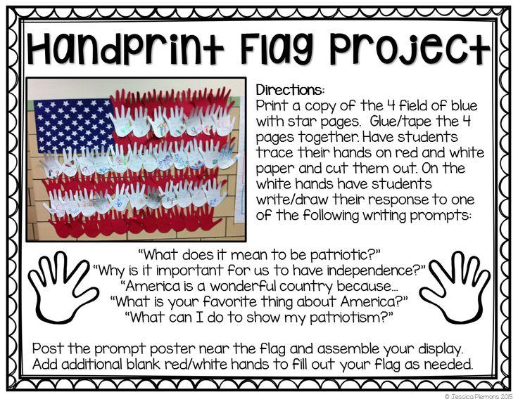 Flag Art Project For Kindergarten