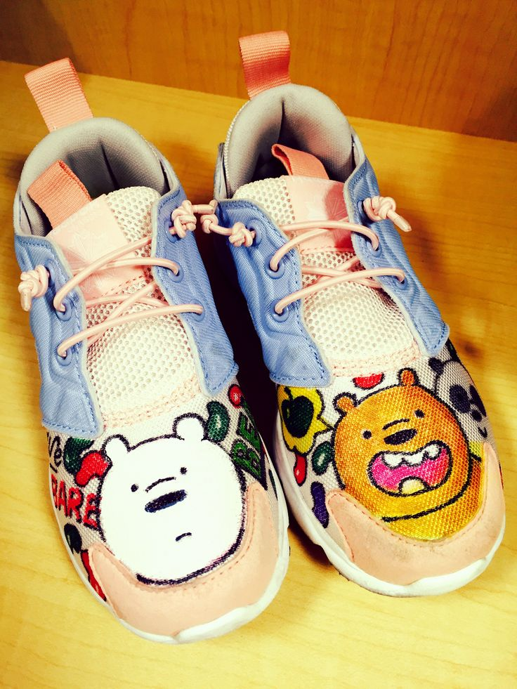 Reebok furylite.  We bare bears edition.  Jellybean ( :
