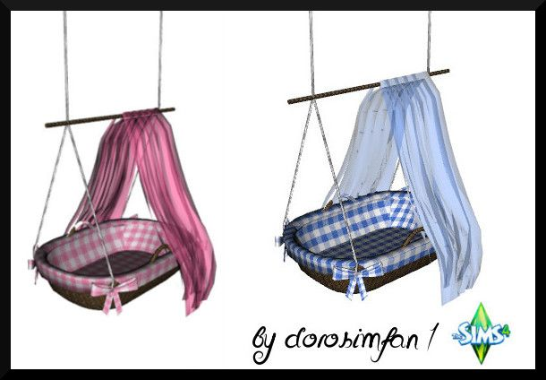 Sims 4 CCs The Best Baby Crib By DoroSimFan1 Sims 4