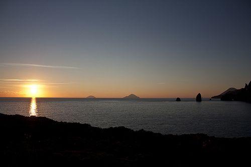 Tramonto al Therasia Resort - Vulcano - #eolieotur13 #Sicilia #Vulcano #italy #travel #italia