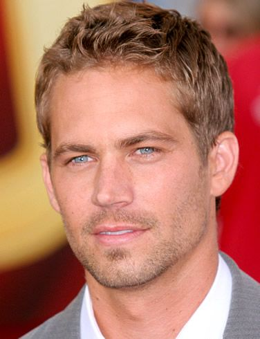 Paul Walker. One of the few blue eyed blonde haired boys I have ever found liked