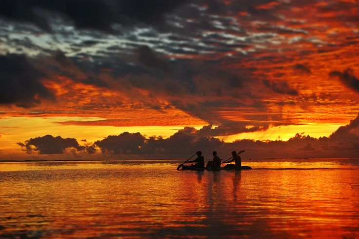 """""""What do You need to get out on the water?"""" www.TheRiverRuns.info #kayaking #kayak #sunset"""